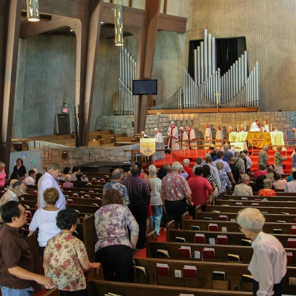 07/06/2014, The Communion Procession