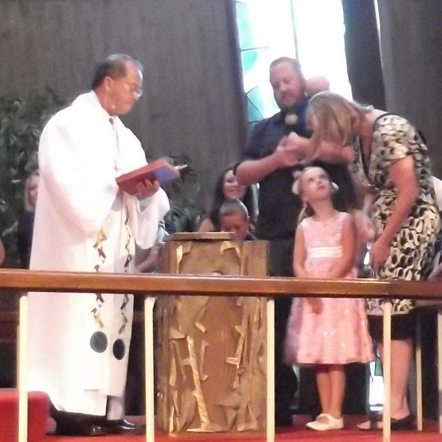 Baptism of Ian Joseph Hensley, July 27th, 2014