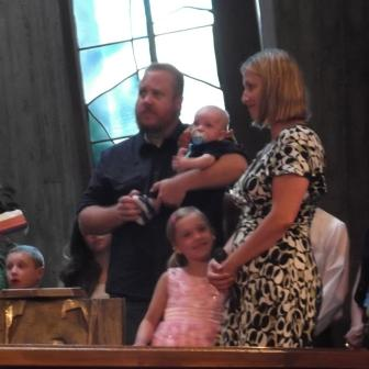 Baptism of Ian Joseph Hensley, July 27th, 2014