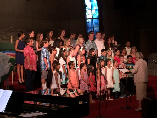 Children's Choir School 2015