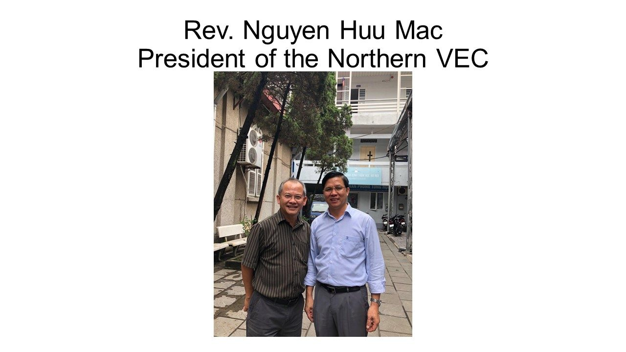 Rev. Dr. Bau Dang's Mission Trip to Vietnam