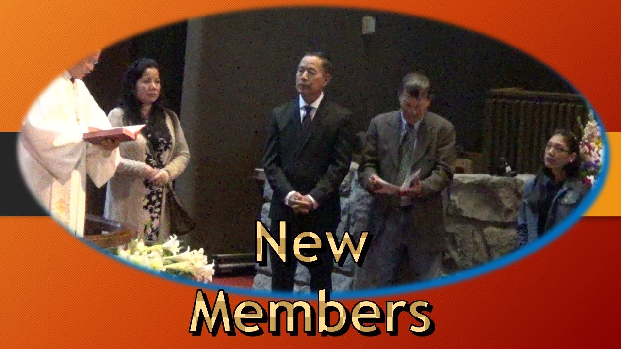Reception of New Members and Baptism